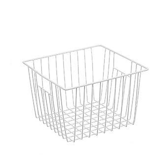 27x20x12cm Storage Basket for Kitchen House White Organizer  Storage Bin