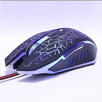 Professional Gaming Mouse, Wired Optical Led, Computer Mice, Usb Cable Mouse