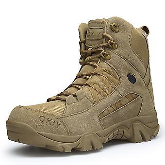 Zapatos de senderismo al aire libre transpirables para hombre 1705 Brown