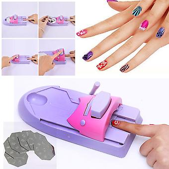 Nails Art Design Drawing Polish Stamper Printer Machine Unha Paint machine to decorate nails Decorate Fingernail