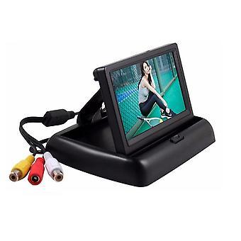 """4.3"""" Vouwend Tft LCD-scherm, Achteruitkijkscherm, W/2-kanaals, Auto Video Player Met"""