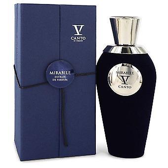 Mirabile V Extrait De Parfum Spray (Unisex) By Canto 3.38 oz Extrait De Parfum Spray