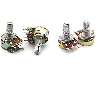 Potentiometer, Shaft Amplifier Dual Stereo
