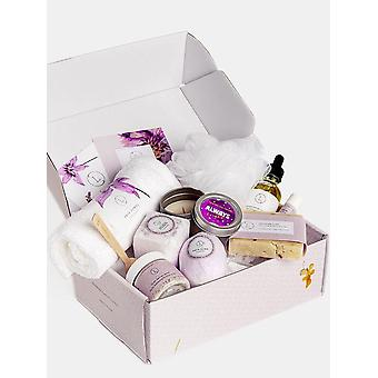 A New All Natural Lavender Box  - Bath & Body Products