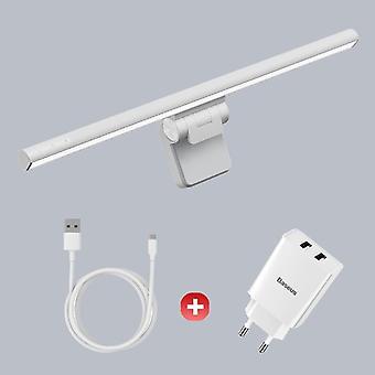 Dator skrivbordslampa / skärm Ljus Bärbar dator USB-lampa Ny hängande ljusbordslampa