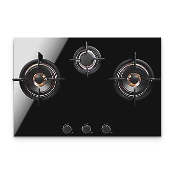 Household Gas Stove 3 Hole Multi-head Natural Gas Embedded Desktop Stove