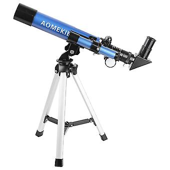 F400x40 Astronomical Refractor Telescope HD Optical Space Monocular Entry Level Children Kids Toy Gi