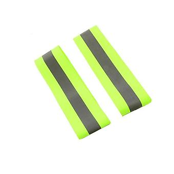 1 Pair Of Reflection Elastic Wristbands (2pcs 5cm)