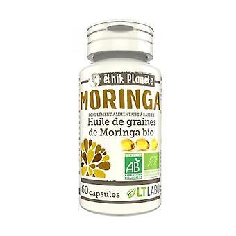 Organic Moringa Oil 60 capsules