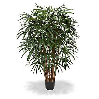 Künstliche Raphis Palm XL Deluxe 130 cm