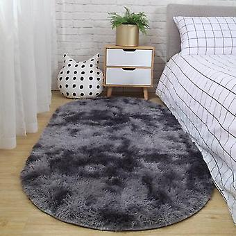 Carpet Bedroom Oval Bedside Carpet Living Room Sofa Coffee Table Mat