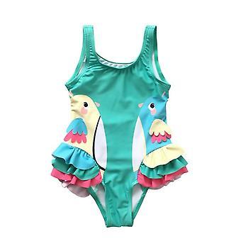 Maillot de bain de chéri avec le maillot de bain de maillot de plage de modèle de dessin animé