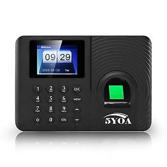 Biometric Fingerprint Time Attendance System Clock Recorder Employee