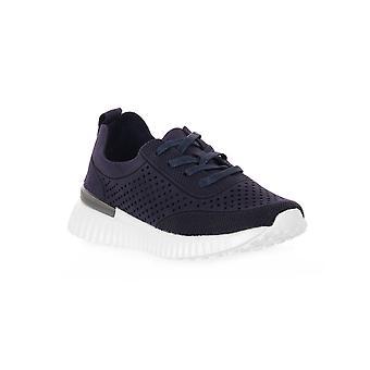 Grunland blå f6 vity skor