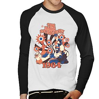 The Magic Roundabout Retro Brian & Dylan Men's Baseball Long Sleeved T-Shirt