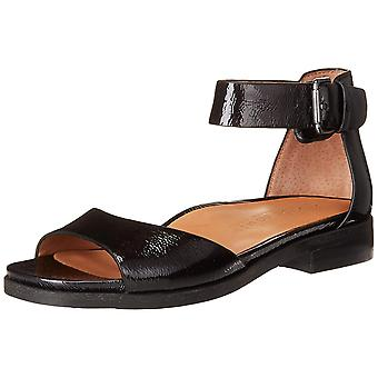 Gentle Souls Womens gracey Peep Toe Casual Ankle Strap Sandals