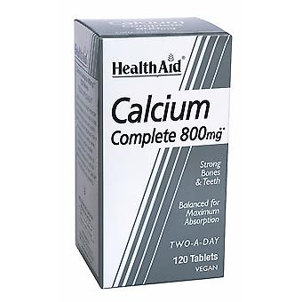 Health Aid Calcium Complete 800mg, 120 Tablets