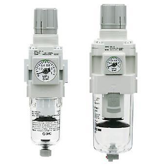 SMC Aw20 5Um G 1/4 Fr montering, 1 Mpa, 1/4 i