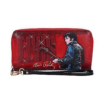 Elvis Presley 1968 Zip-Around Clutch Purse
