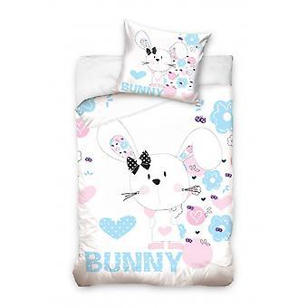 Conejo de cubierta 160 x 200 cm blanco