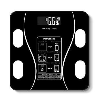 Weight Bathroom Digital Weight Scale(Black)