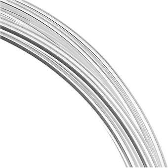 Beadsmith hopea pinnoitettu kupari saksalainen bead lankalanka 22 mittari / .6mm (10 metriä / 32,8 jalkaa)