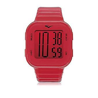 Everlast Unisex Adult Quartz Digital Watch with Plastic Strap EVER33-504-004