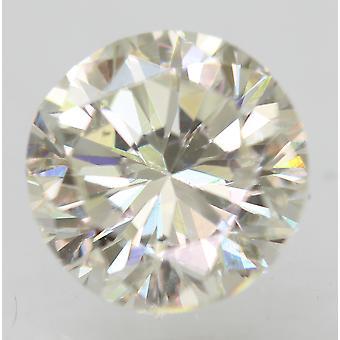 Certifié 1.01 Carat H VVS2 Round Brilliant Enhanced Natural Diamond 6.06mm 3VG