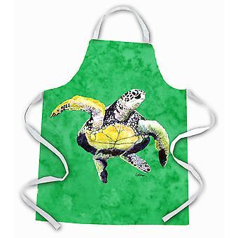 """Caroline's Treasures 8671Apron Turtle Dancing Apron, Large, Multicolor"""