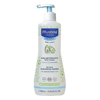 Agua purificadora sin enjuague para bebés Mustela Aguacate (300 ml)