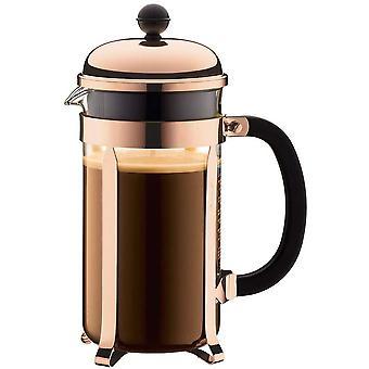 FengChun 1928-18 Chambord Kaffeebereiter, 1,0 L, 34 oz - Kupfer