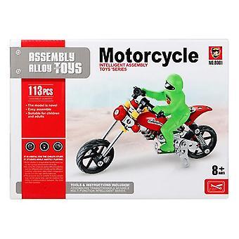 Construction set Motorcycle 117585 (113 Pcs)