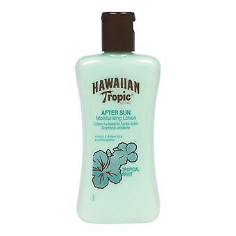 Sun Lotion Aftersun Hawaiian Tropic Fuktgivande Tropiska frukter (200 ml)
