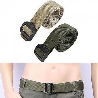 Navy Army Belt Tactical Military Nylon Wide Strap Us Survival Combat Rigger