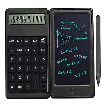 2 In 1 Calculator With 6 Inch Lcd Digital Writing Tablet Portable