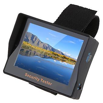Ny Overvågning Audio Video Input 3.5inch TFT Color LED Bærbar Test Monitor CCTV Kamera Sikkerhed