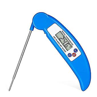 Digital Thermometer Foldable Probe Water Oil Bbq Grill Monitor -50-300℃ Kitchen Tools With Lcd