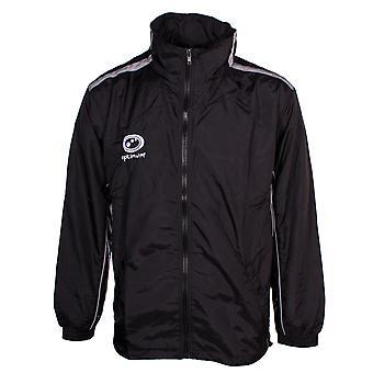 Optimum Eclipse Mens Hooded Showerproof Winter Rain Jacket Coat Black