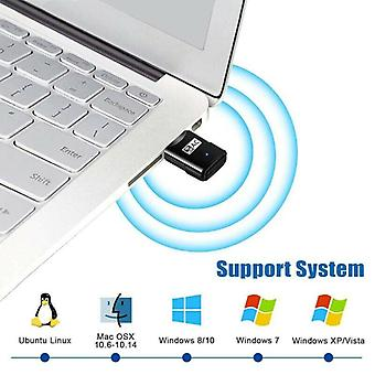 600 Mbps USB kétsávos vezeték nélküli adapter WiFi Dongle 802.11 AC laptop PC számítógép
