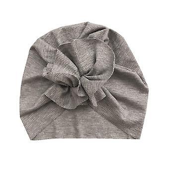 Прекрасный цветок детская шляпа мягкая детская шляпа тюрбан пружина младенец малыш новорожденный ребенок шапочка чепчик головные обертывания дети шляпа шапки