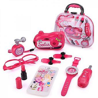 Pretend Makeup For Girls Little Girls Princess Makeup Setwith Complete Makeup Salon(Style3)