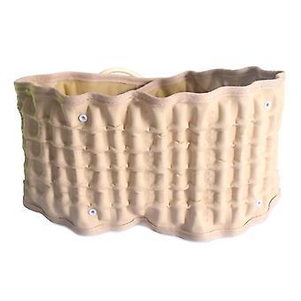 Traction belt waist support lumbar back brace spine massage