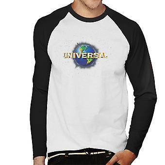 Universal Pictures Logo Mäns Baseball Långärmad T-Shirt