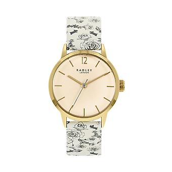 Radley Mto - Ss21 Promo Ry21248a Cream Dial Leather Strap Ladies Watch