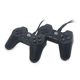 الألعاب التحكم GEMBIRD USB GAMEPAD الأسود