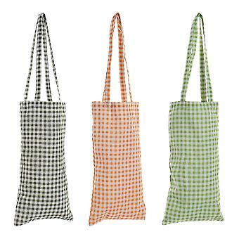 Multi-use Bag DKD Home Decor Frames Polyester (3 pcs) (23 x 2 x 42 cm)