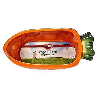 """Kaytee Veg-T-Bowl - Carrot - 7.5"""" Long"""
