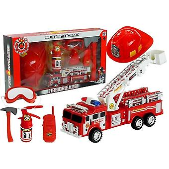 Feuerwehrspielzeug - Set mit Helm - Feuerlöscher - Axt - Maske