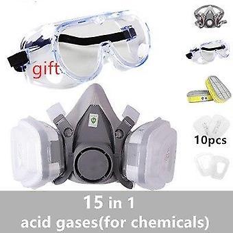 Gas Mask Paint Spray Set