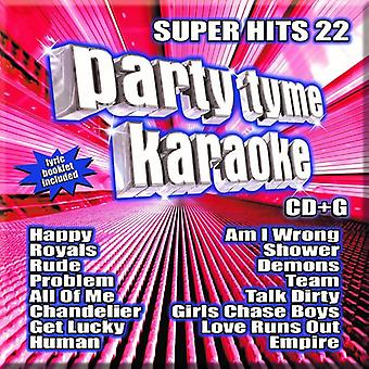 Party Tyme Karaoke: Super Hits 22/Various - Party Tyme Karaoke: Super Hits 22/Various [CD] USA import